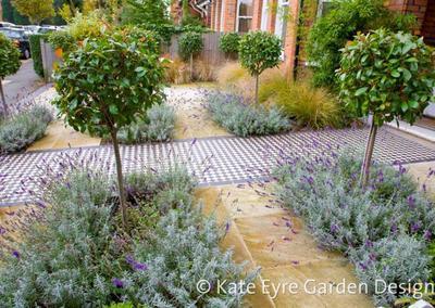 Front Garden Design 2 in Calton Avenue, 2
