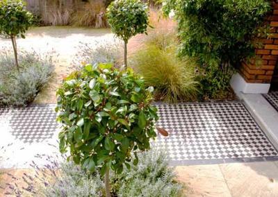 Front Garden Design 2 in Calton Avenue, London, 4