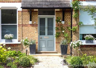 Front Garden Design, Alleyn Road, London, 1