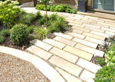 Front Garden Design, Alleyn Road, London, 4