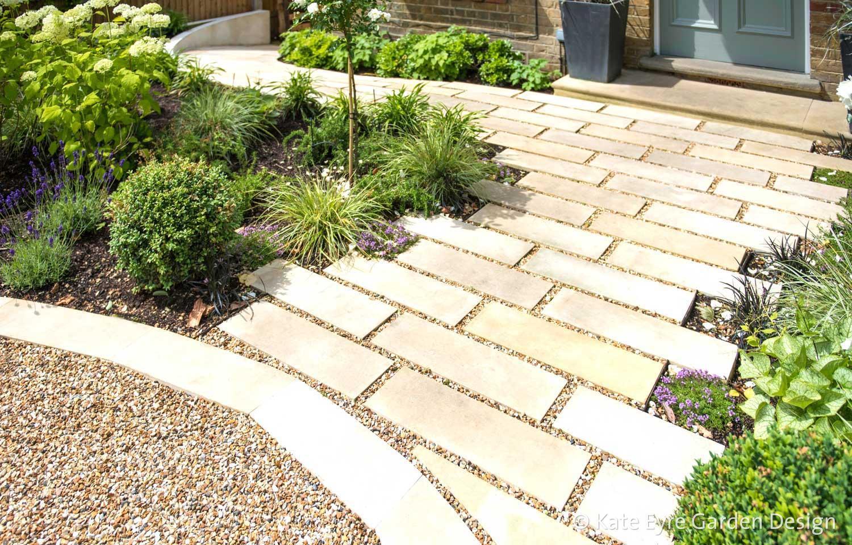 Front Garden Design, Alleyn Road, London, 4