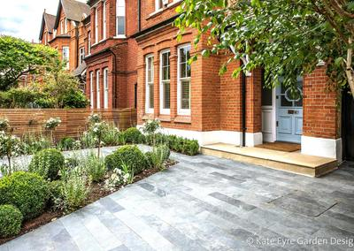Front garden design in Calton Avenue, London, 3