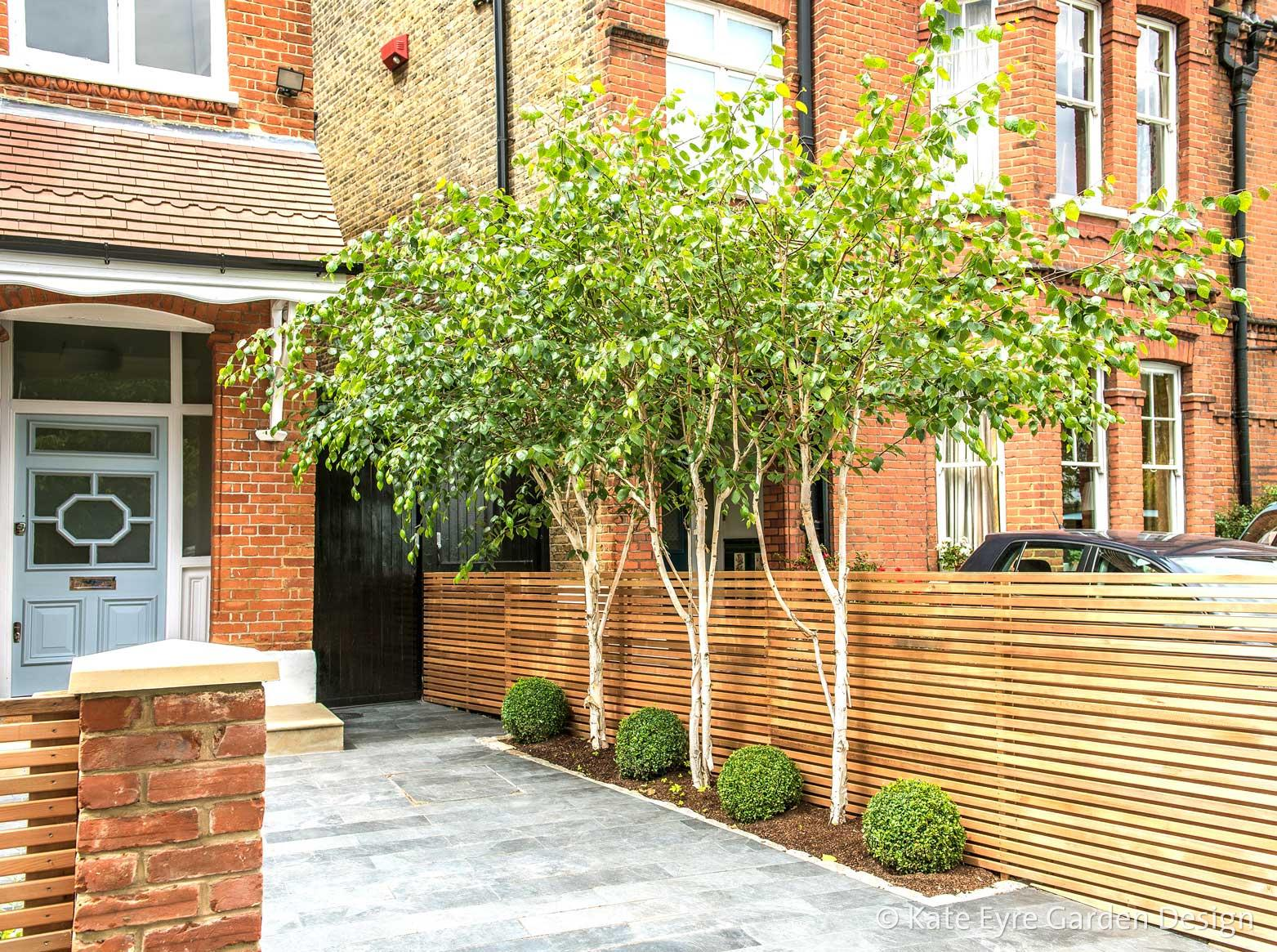 front garden design in calton avenue london 4