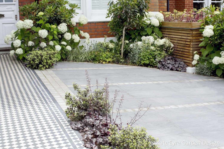 Front garden, Woodwarde Road, London, 3
