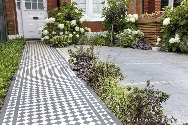 Front garden, Woodwarde Road, London, 5