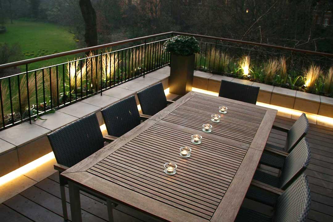 Garden Lighting Design, London, 5