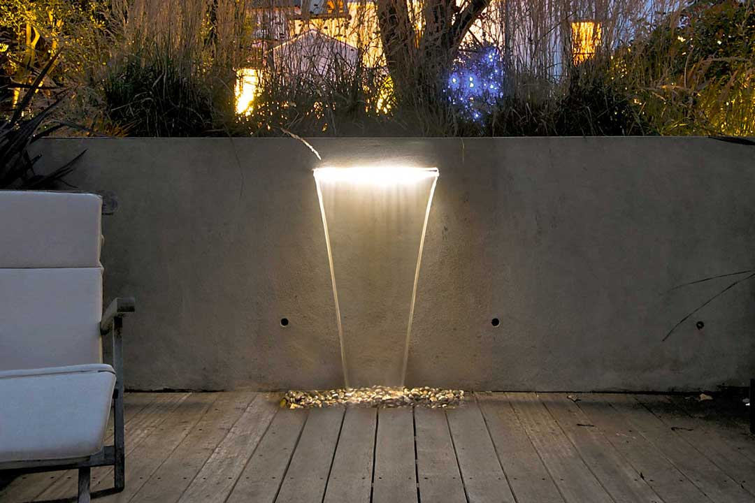 Bespoke Garden Water Feature, London, 3