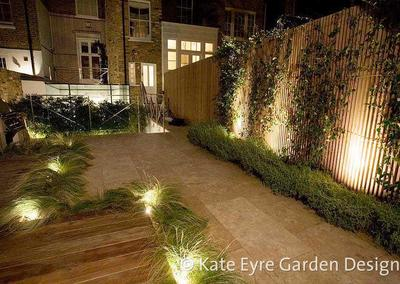 Small hard-landscaped back garden, Drayton Gardens, 8