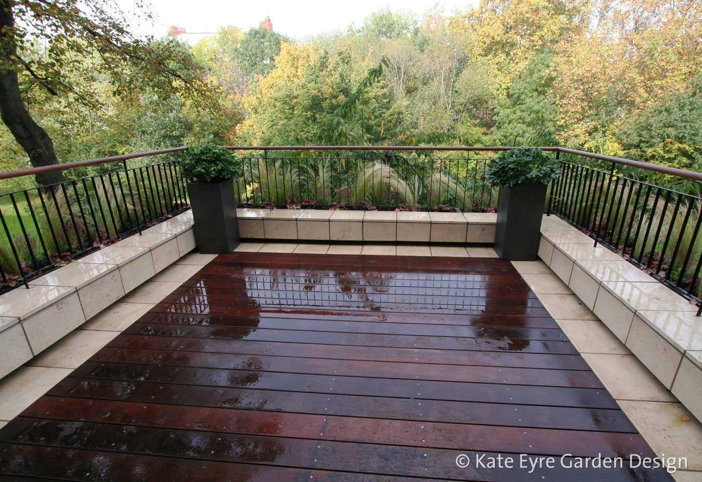 A roof garden design in Notting Hill, West London, 5