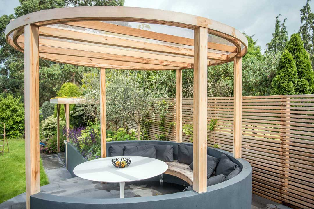 Bespoke garden gazebo, London