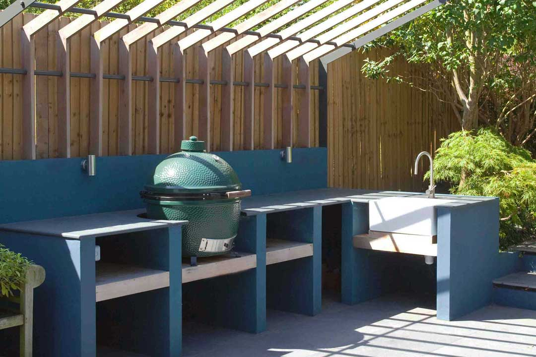 Outdoor kitchen, London, 2